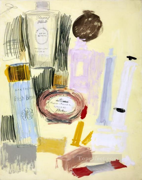 Beauty Products POP Oil Paintings