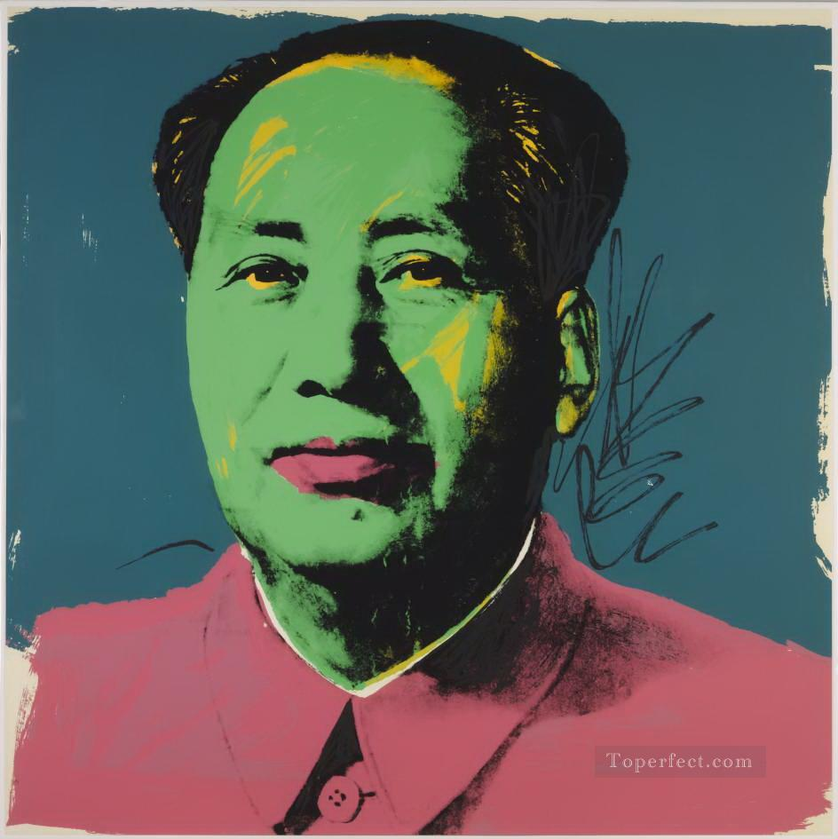 Mao Zedong 3 POP Artists Oil Paintings