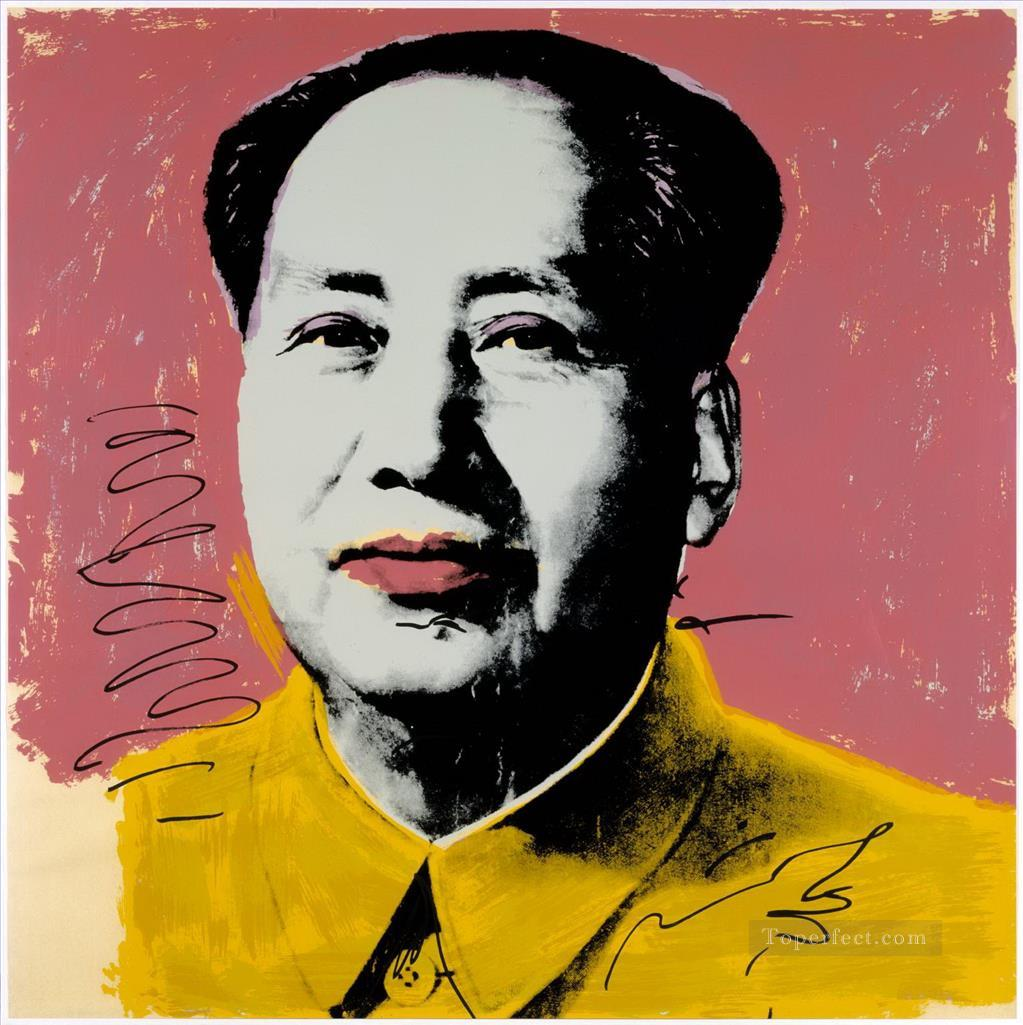 Mao Zedong POP Artists Oil Paintings