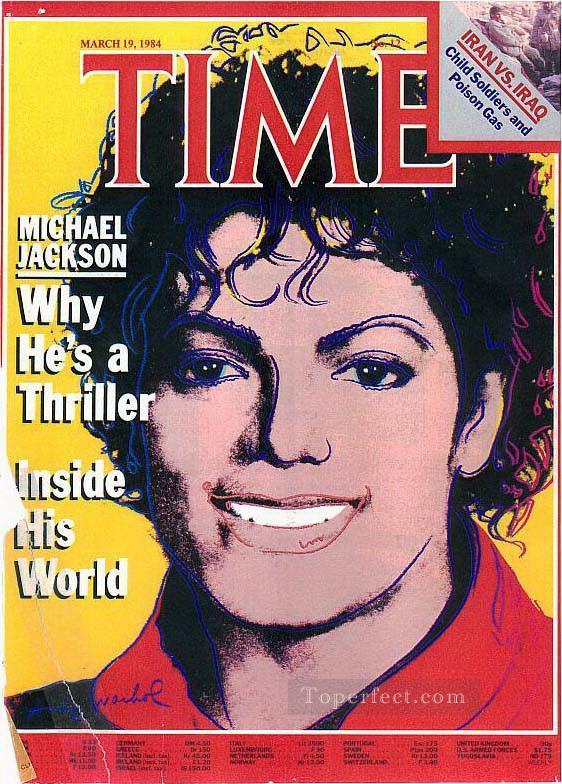 Time Magazine Cover POP Artists Oil Paintings