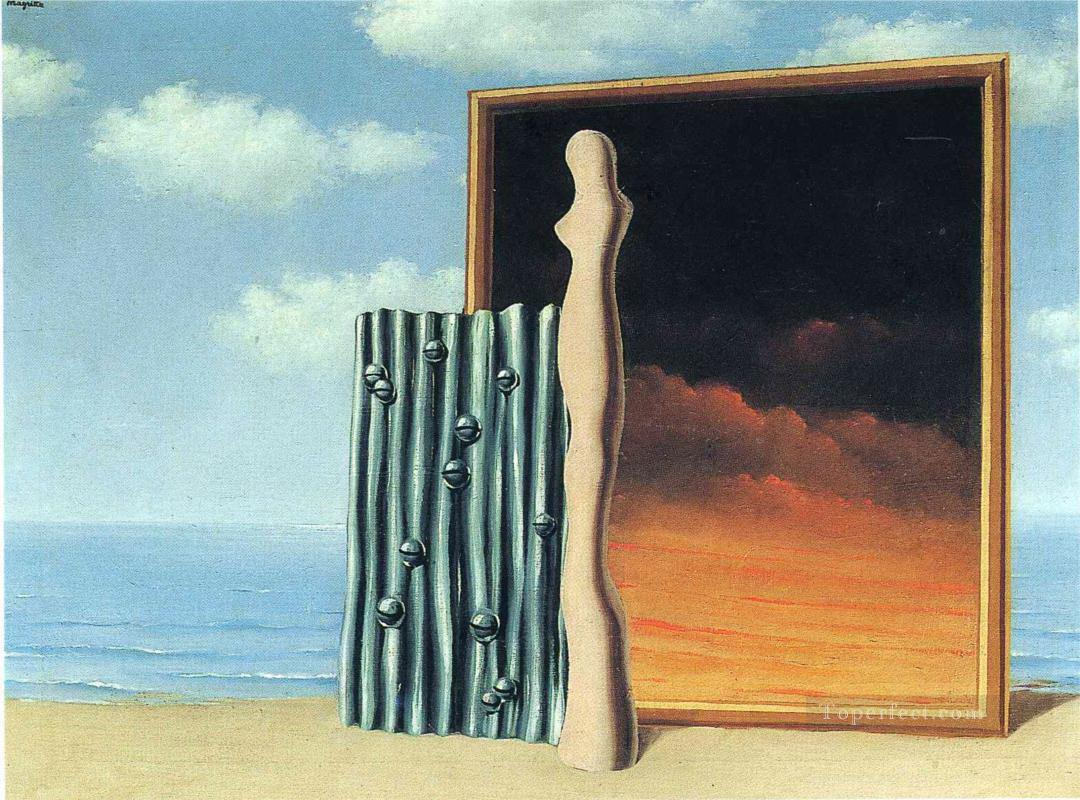 composition on a seashore 1935 Surrealist Oil Paintings