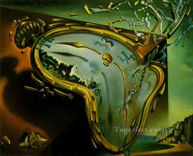 Melting Watch Surrealist Oil Paintings