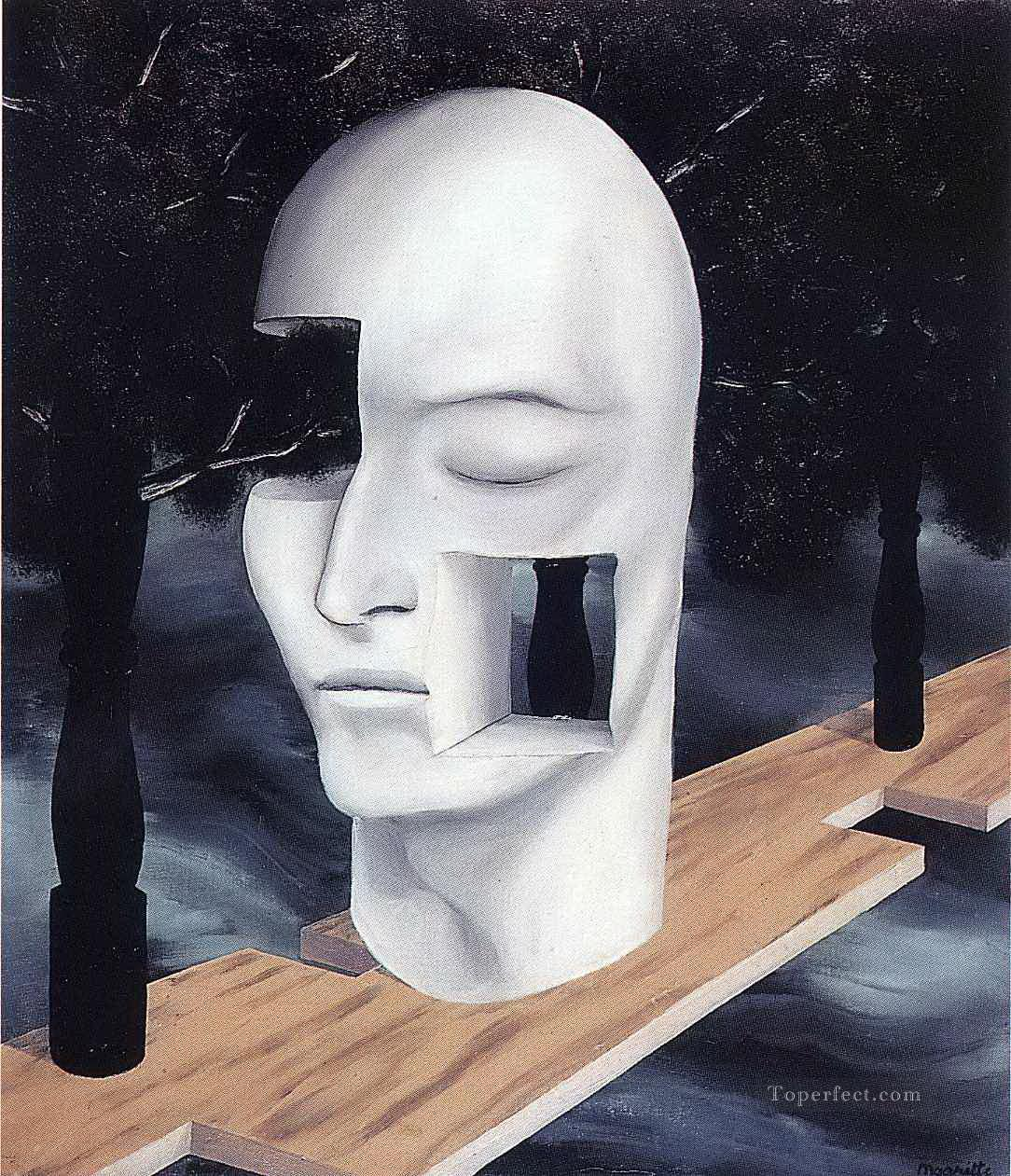 the face of genius 1926 Surrealist Oil Paintings