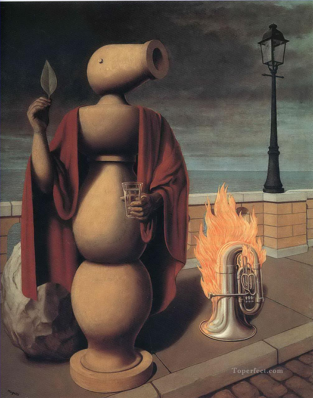 the rights of man 1947 Surrealist Oil Paintings