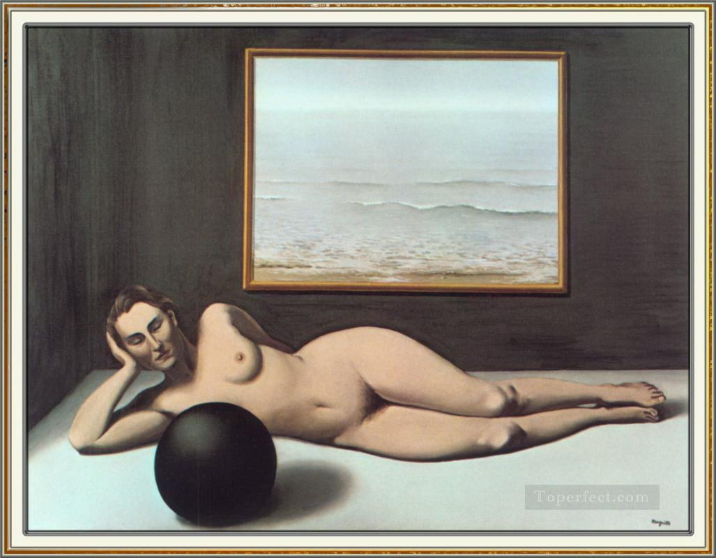 bather between light and darkness 1935 Surrealism Oil Paintings