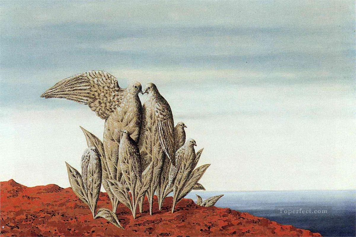 island of treasures 1942 Surrealism Oil Paintings