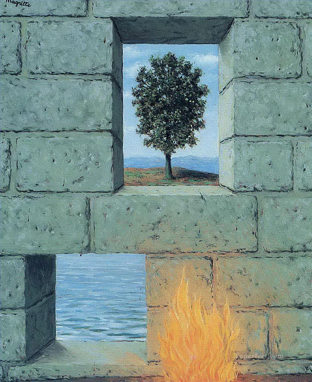 mental complacency 1950 Surrealism Oil Paintings