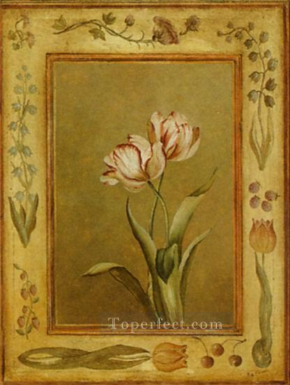Adf172 decoration flower Oil Paintings