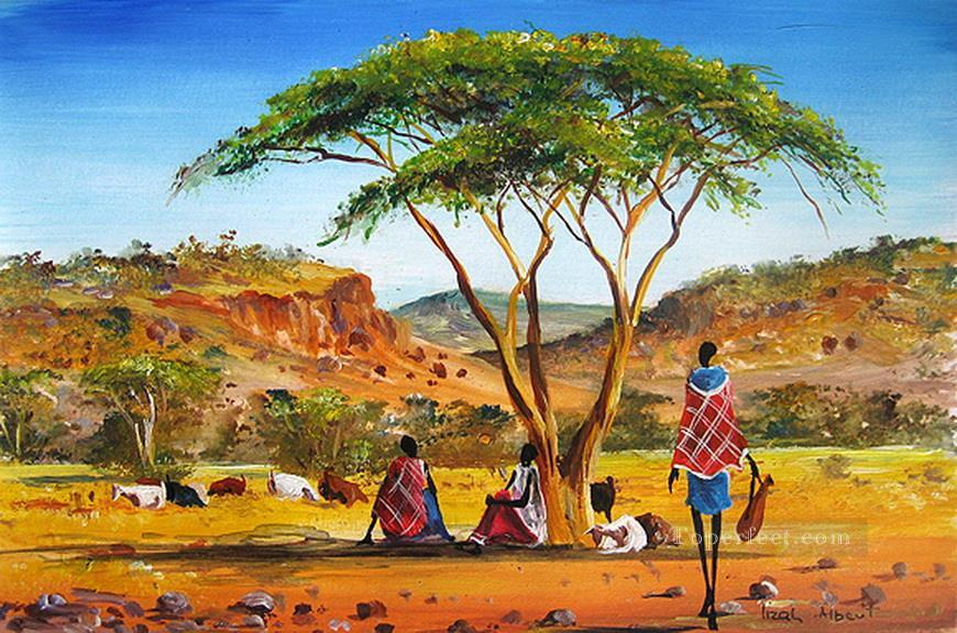 Somewhere in Naivasha from Africa Oil Paintings