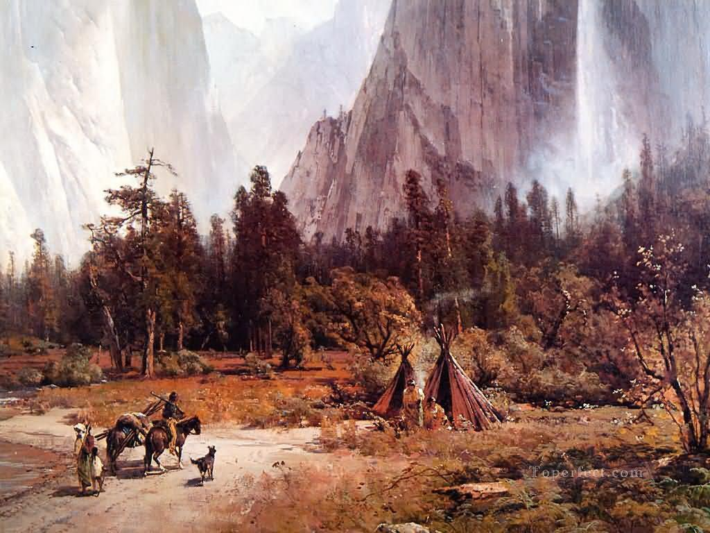 equality ws yosemite valley Indiana Oil Paintings