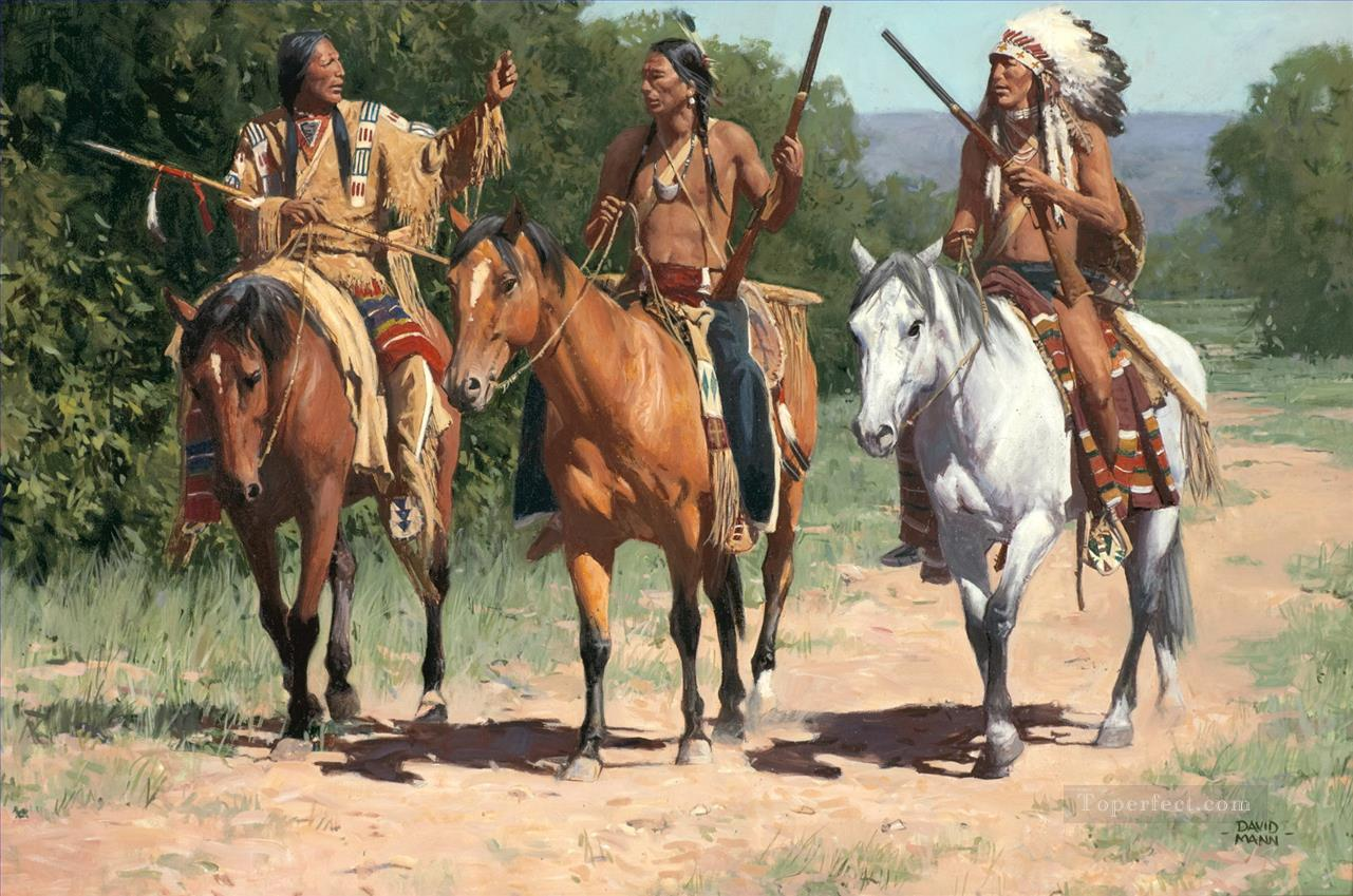 west america indians 59 Oil Paintings