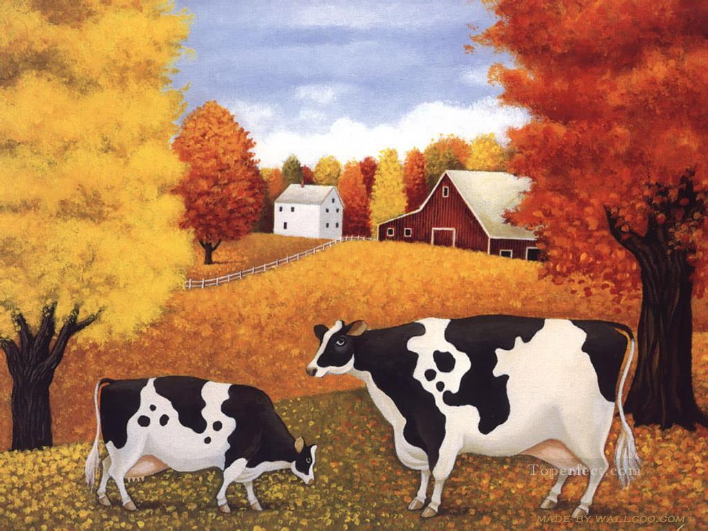 cattle 15 Oil Paintings