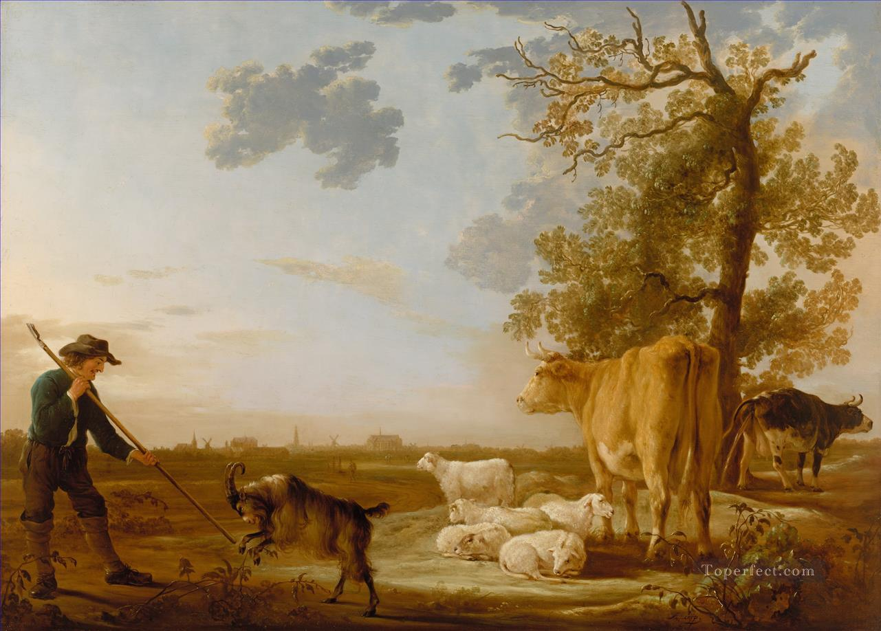 Aelbert Cuyp Landscape with cattle Oil Paintings