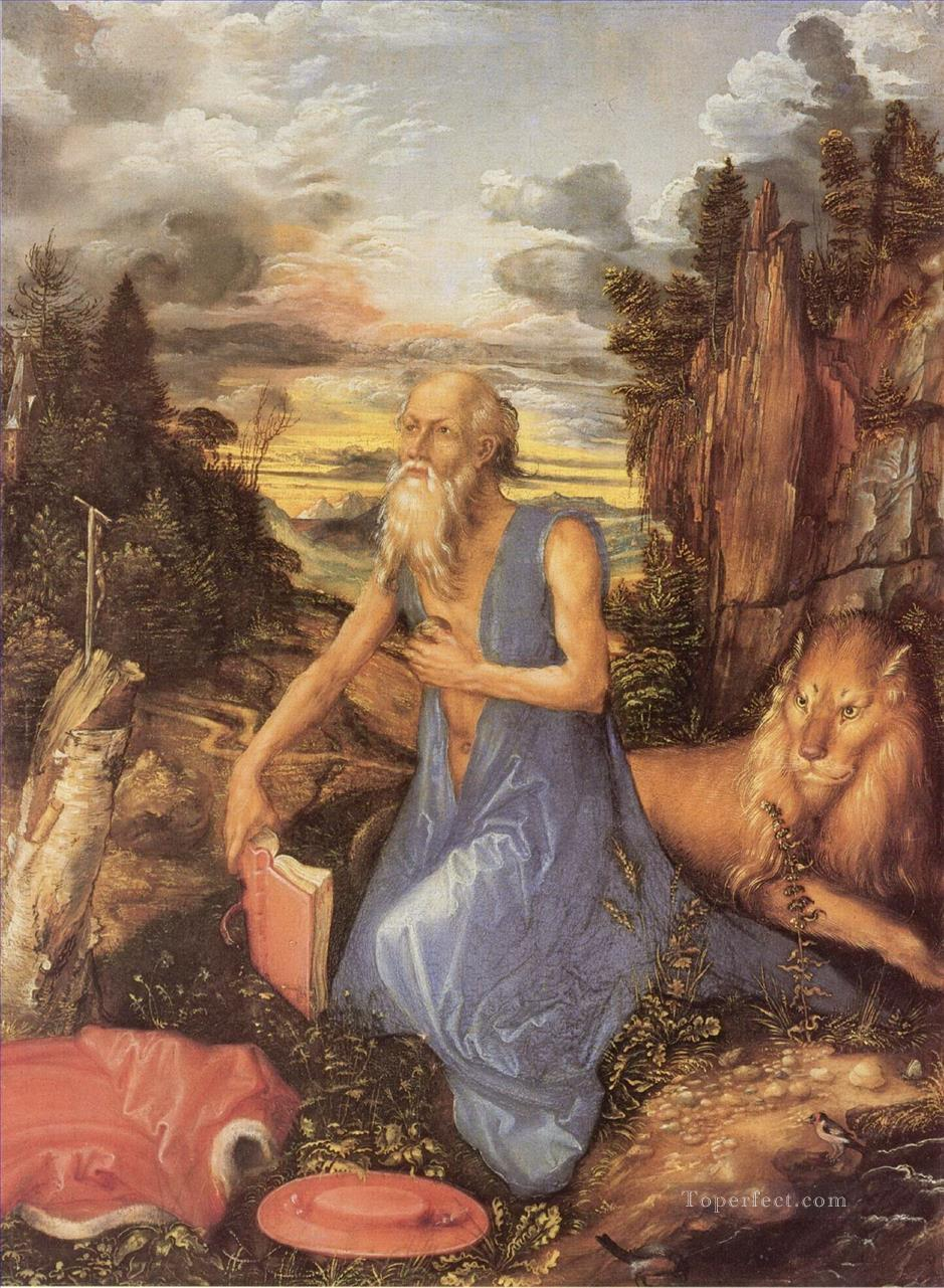 Penitent Jerome Albrecht Durer Oil Paintings