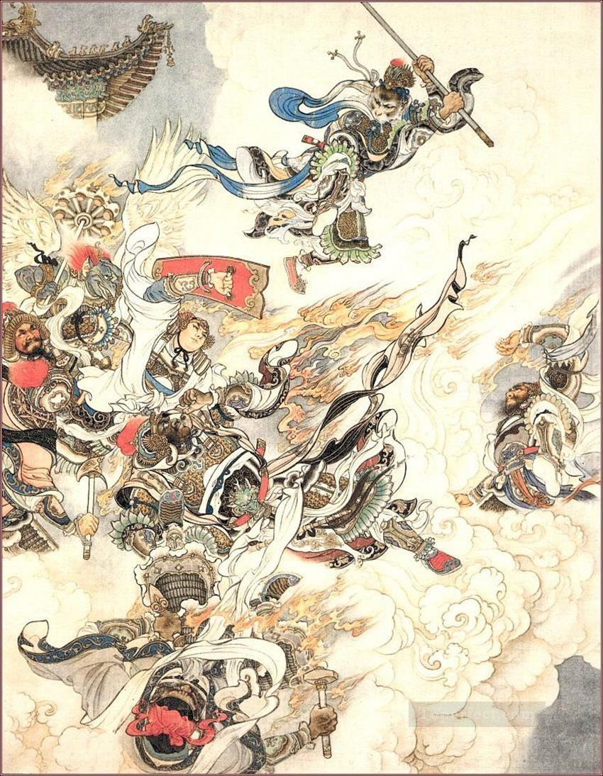 d6f329c4a Sun Wukong Moneky King Chinese 02 Painting in Oil for Sale