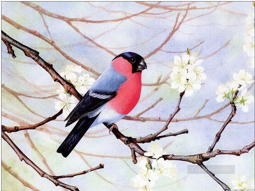 bird in Spring Oil Paintings