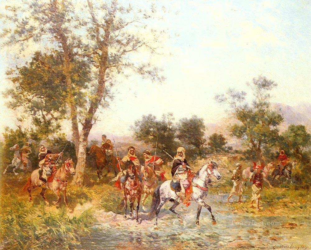 Georges Washington Arab Riders at the Oasis Oil Paintings
