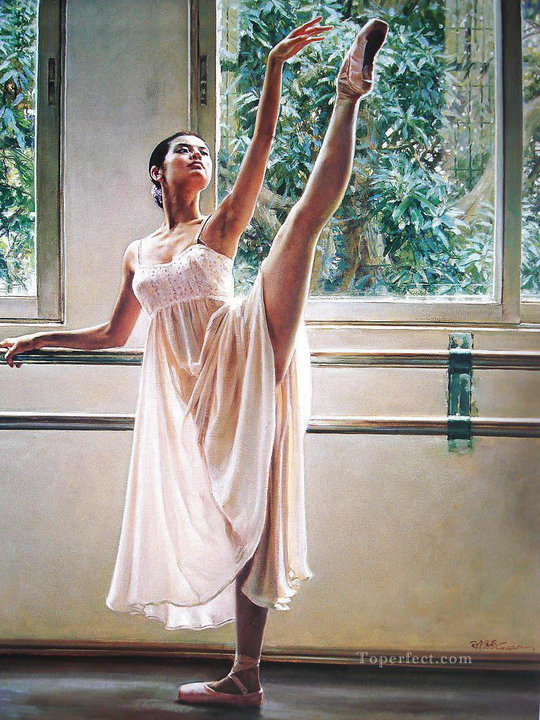 Ballerina Guan Zeju23 Chinese Oil Paintings
