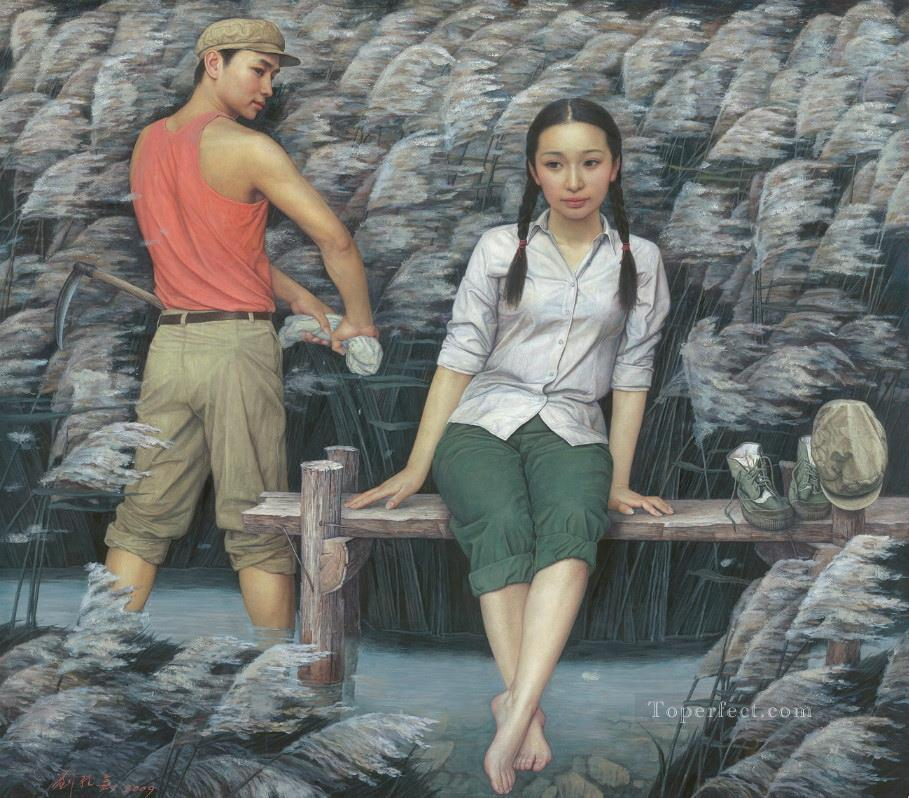 The Age of Innocence Chinese Oil Paintings