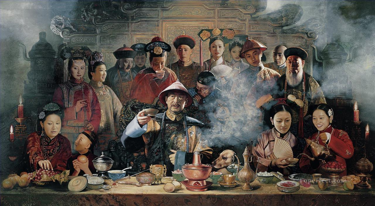 Banquet from China Oil Paintings