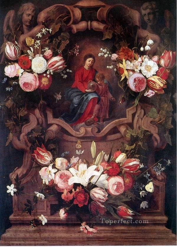 gdh042aD13 classic flower Oil Paintings
