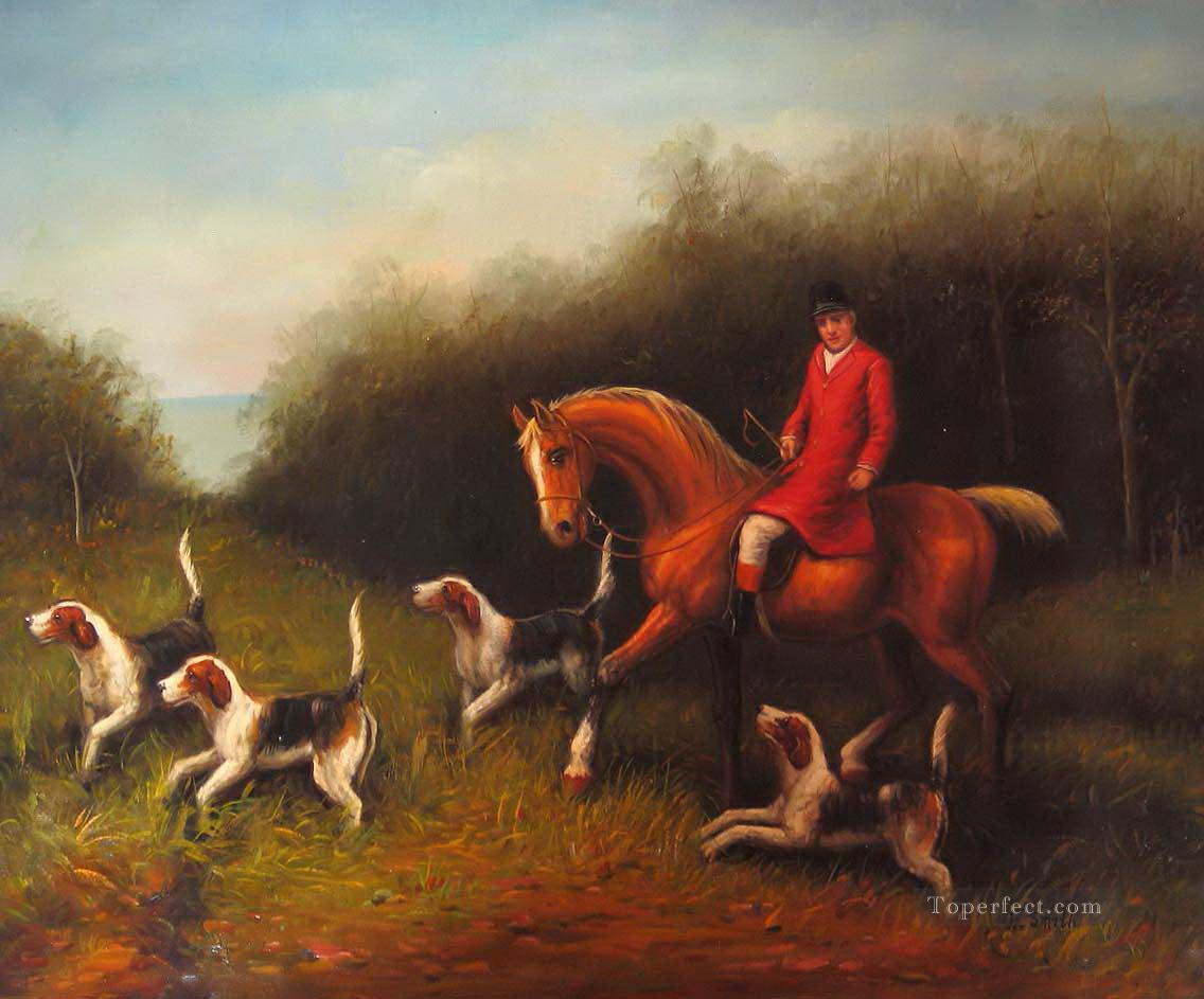 hunters 45 Oil Paintings