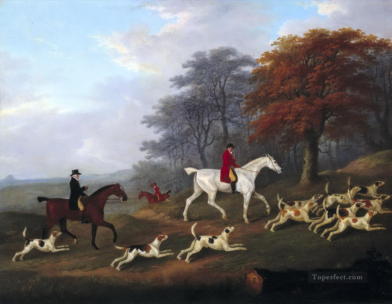 Gdr0011 classical hunting Oil Paintings