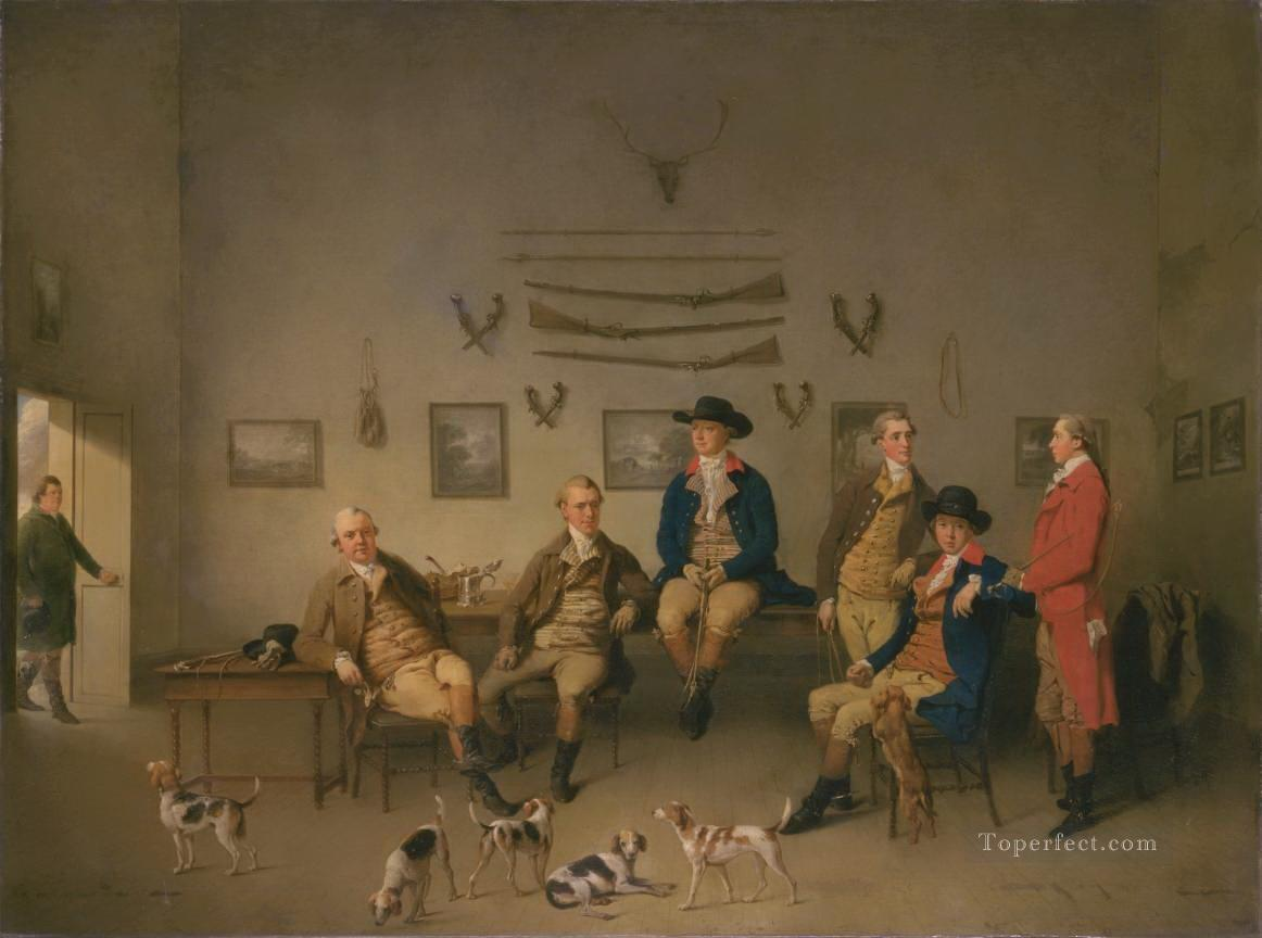 hunters at home Oil Paintings