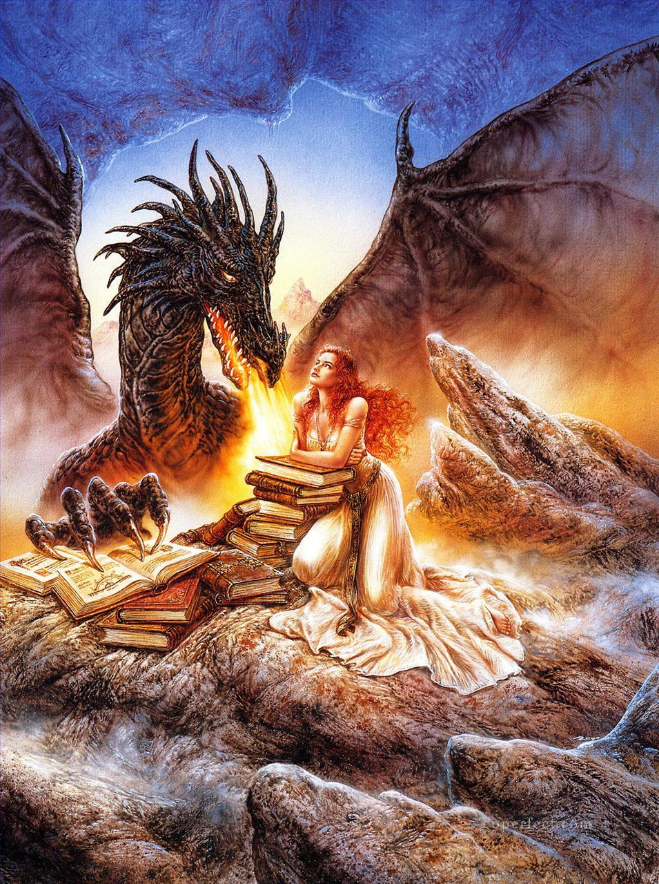 dreams dragon Fantastic Oil Paintings