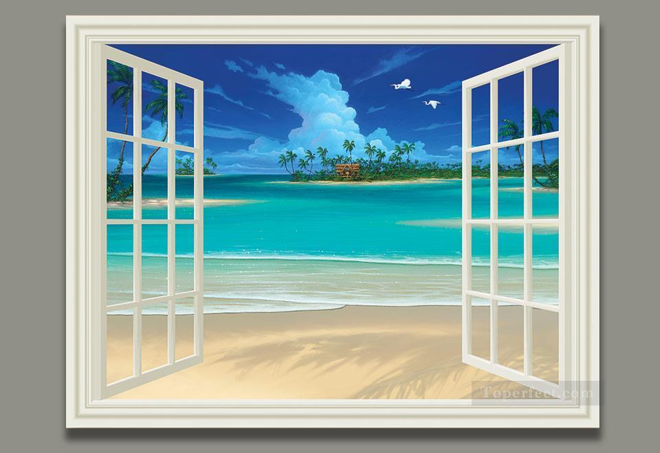 328ba1af8d0 3d magic fantasy Painting - Seascape Painting Summer Breeze magic 3D