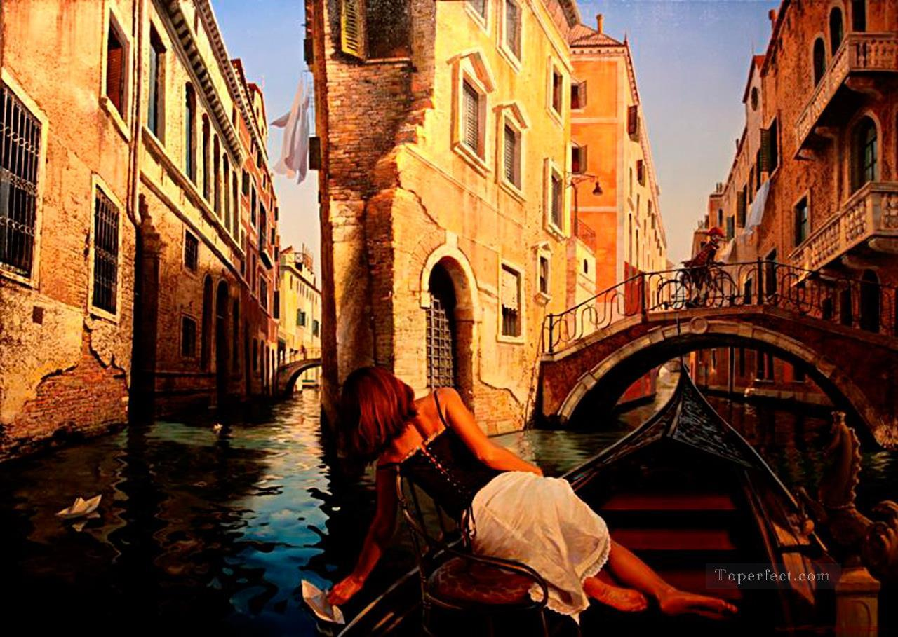 SP Venice Fantasy Oil Paintings