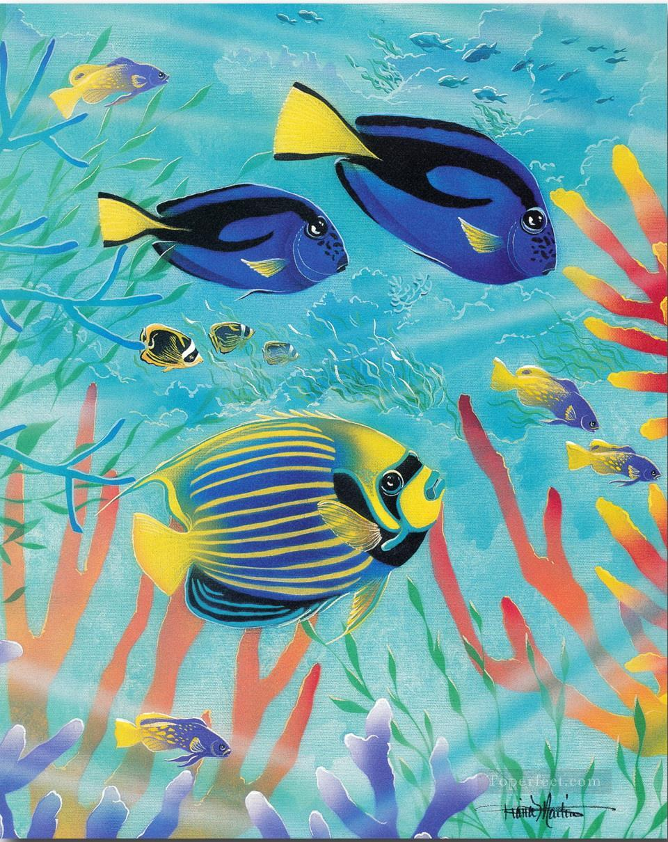 Sea life world painting in oil for sale for Sea life paintings artists