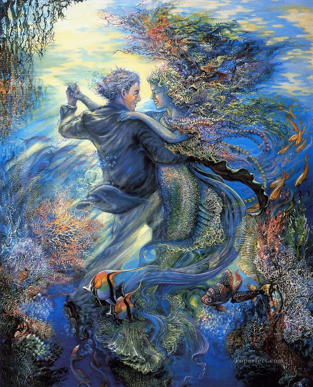 mermaid painting art oil paintings
