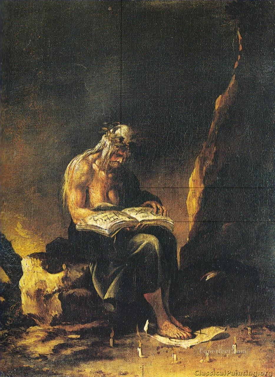 The Witch by Salvator Rosa Oil Paintings