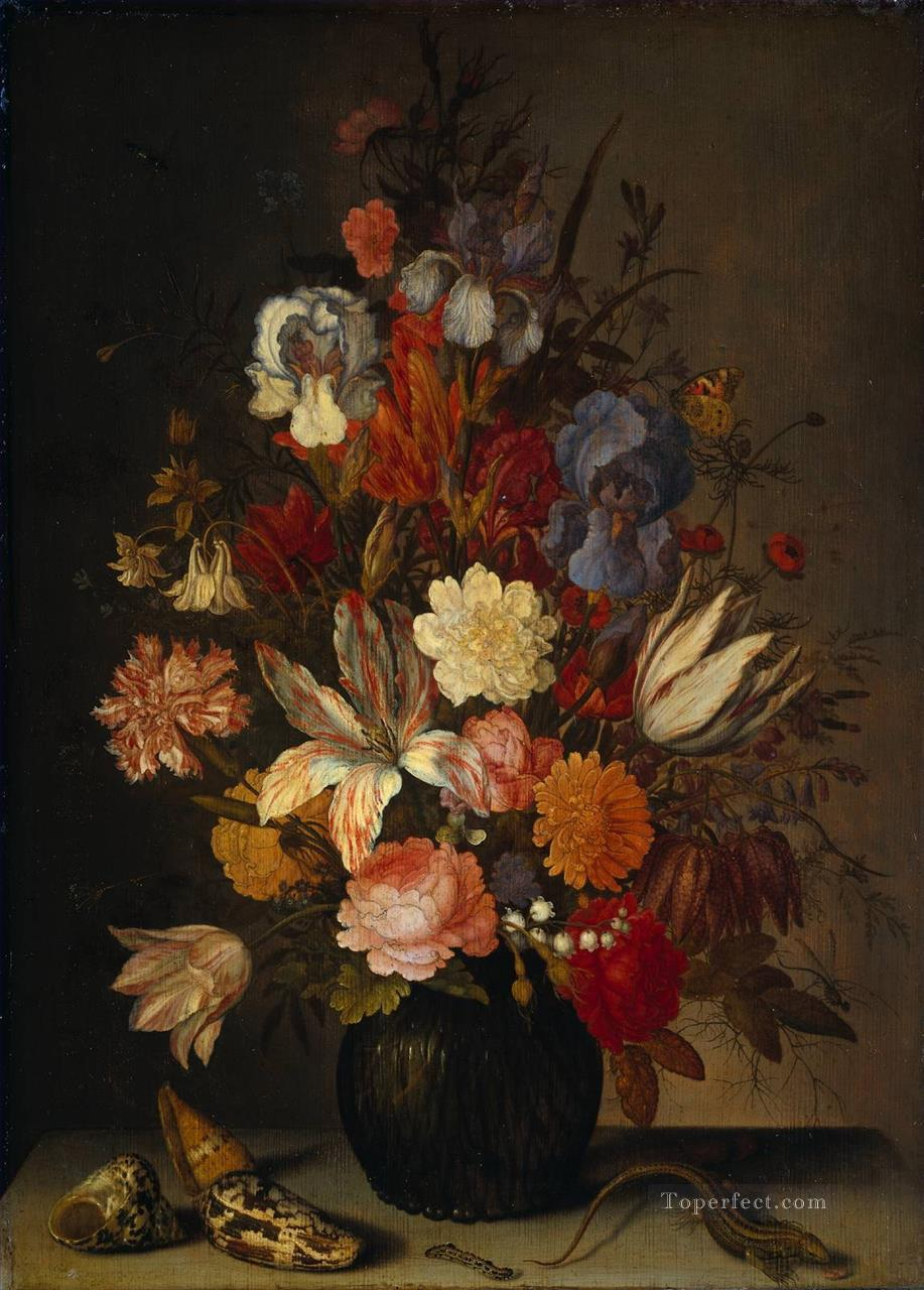 Bosschaert Ambrosius flowers rijks Oil Paintings