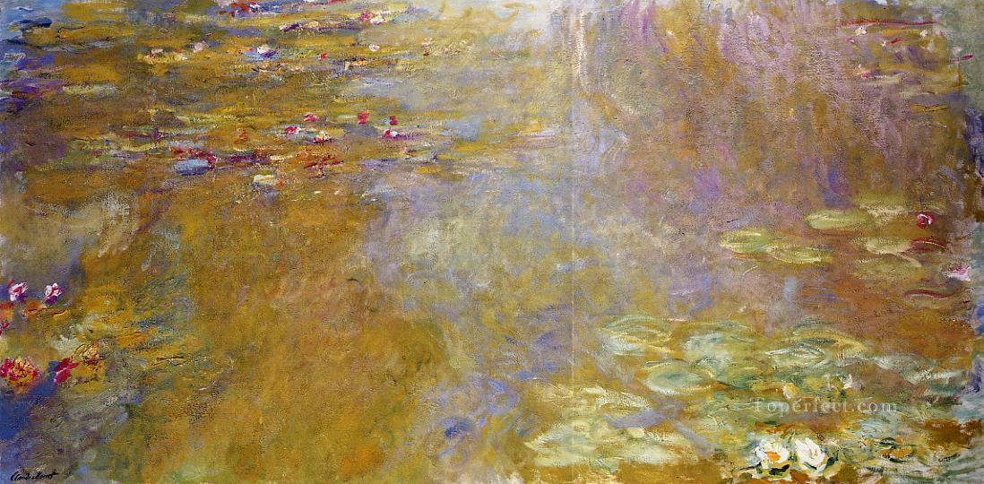 The Water Lily Pond II Claude Monet Impressionism Flowers Oil Paintings