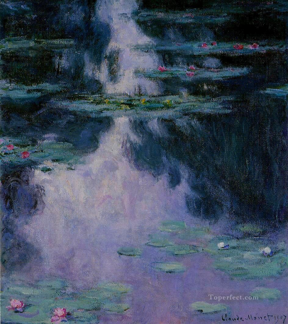 Water Lilies IV Claude Monet Impressionism Flowers Oil Paintings