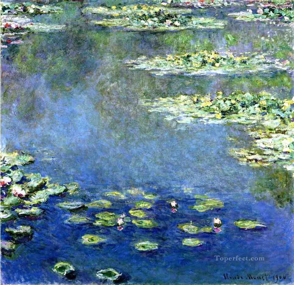 Water Lilies 2 Claude Monet Impressionism Flowers Oil Paintings