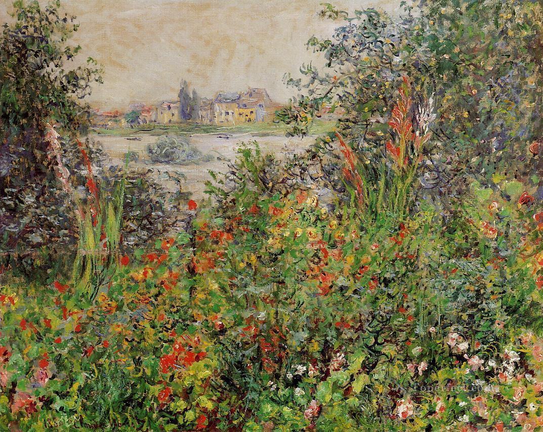 impressionism monet flowers - photo #6