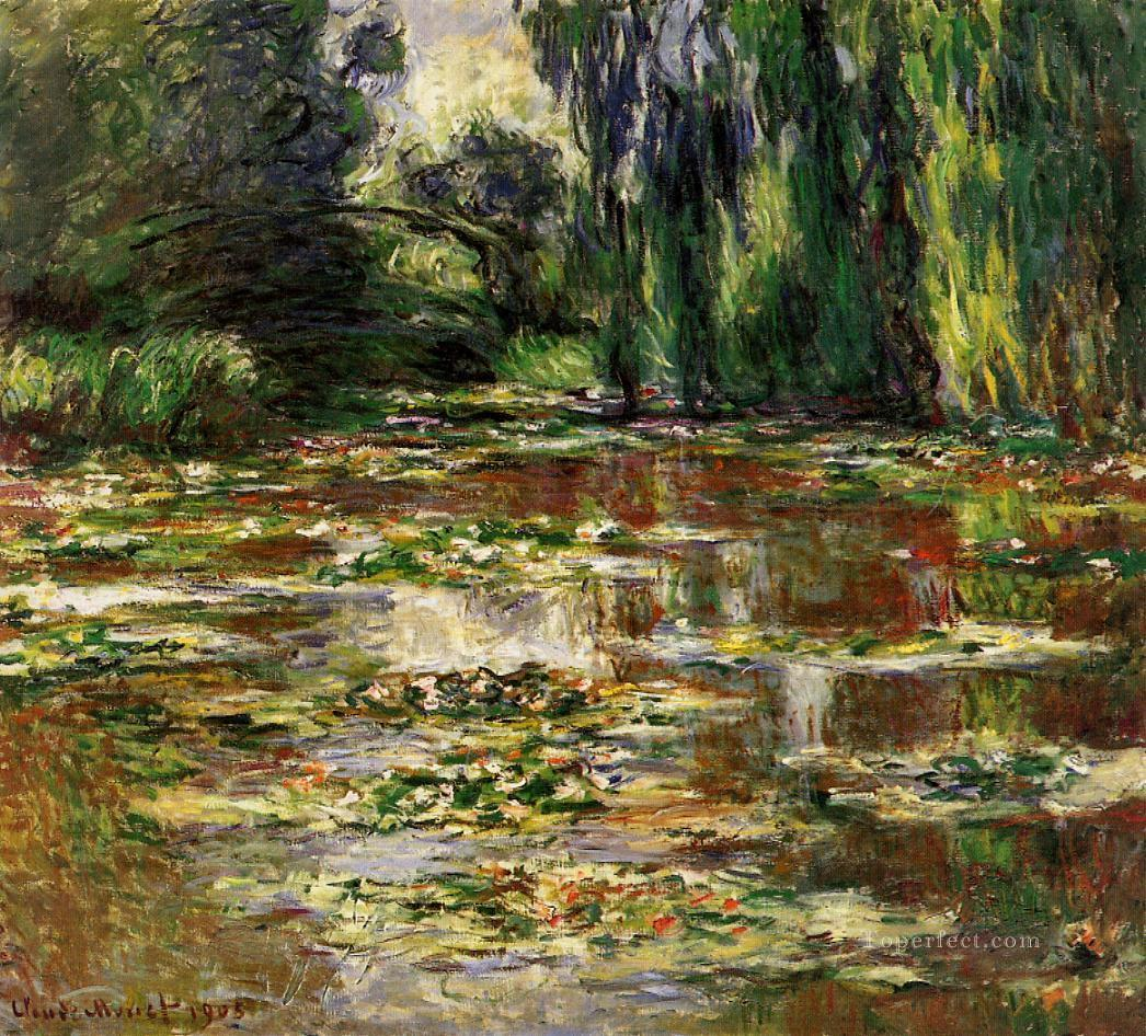 The Bridge Over The Water Lily Pond 1905 Claude Monet Impressionism
