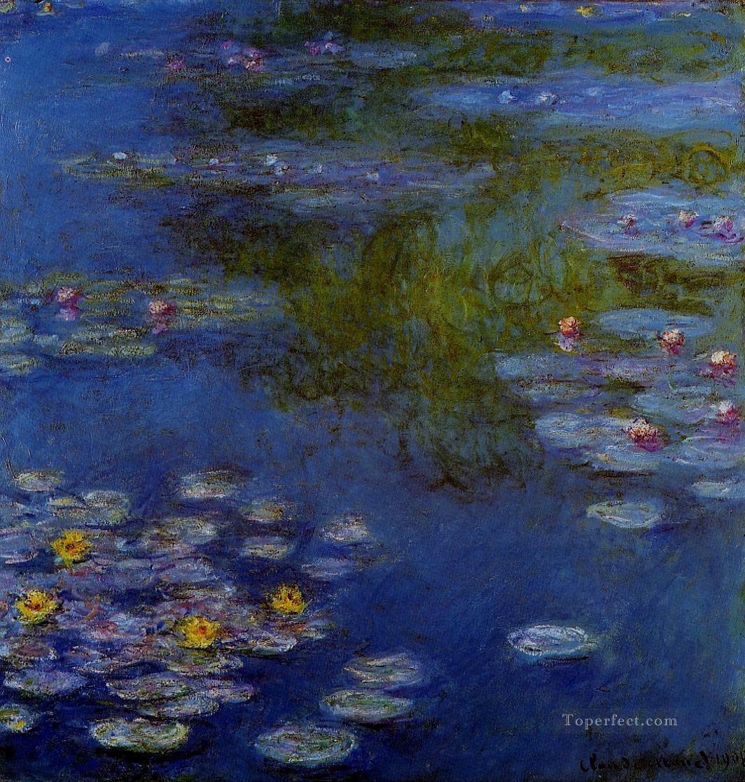 Water Lilies Claude Monet Impressionism Flowers Oil Paintings