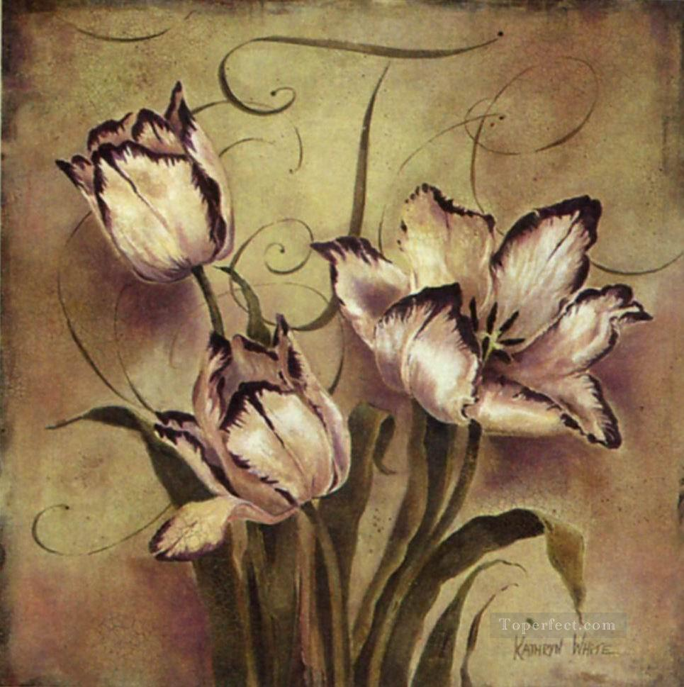 Adf092 flowers decor Oil Paintings
