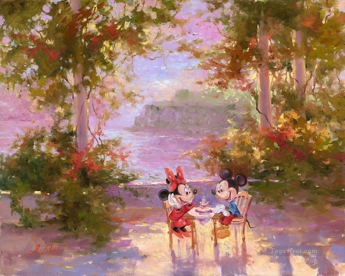 Mickey Mouse The Perfect Birthday IS Disney Oil Paintings