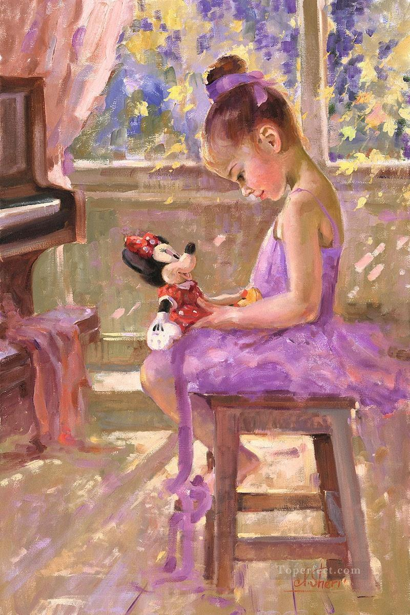 Minnie Mouse Joyful IS Disney Oil Paintings