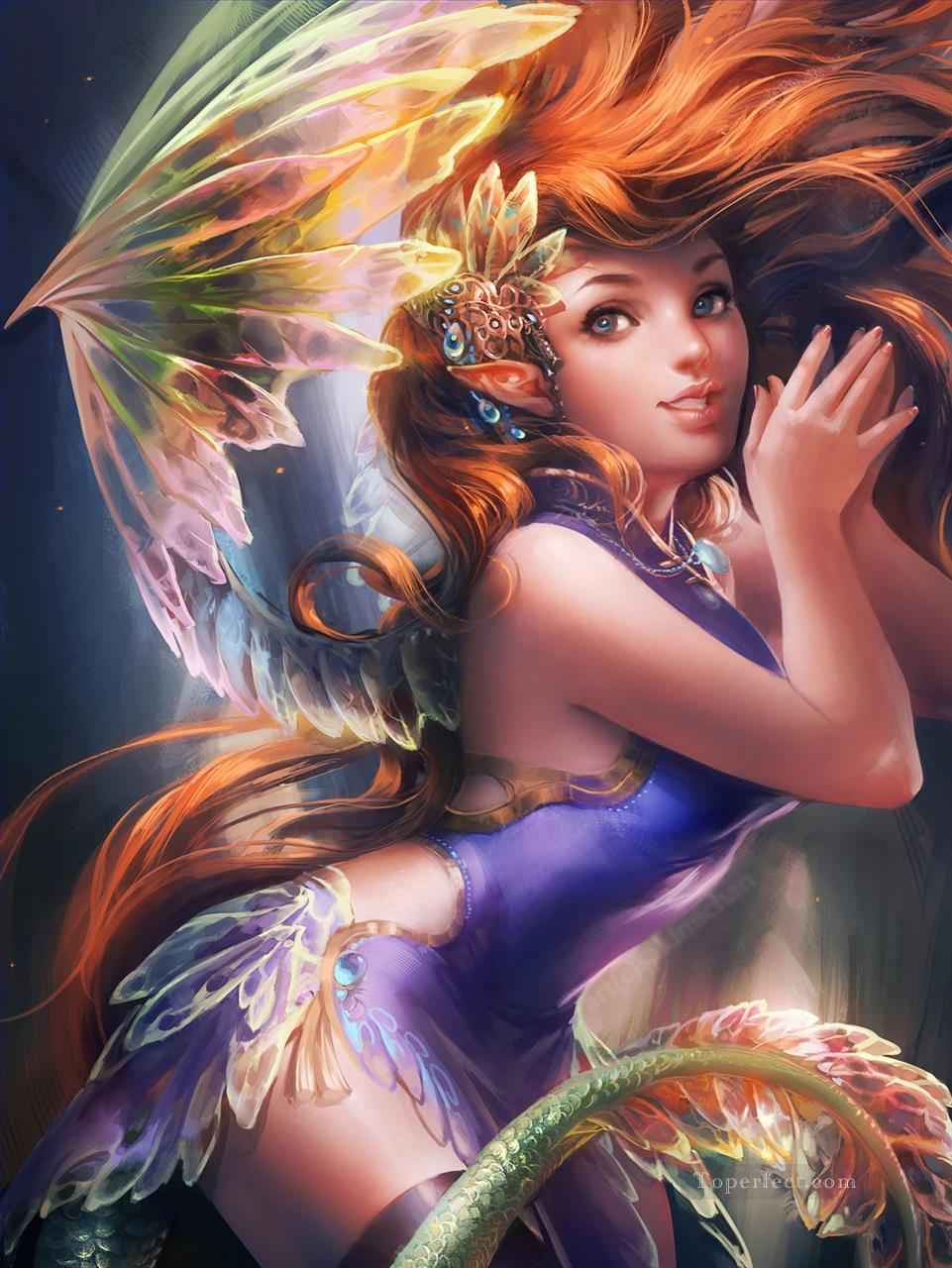 sd064cd modern wholesale fairy for kid painting in oil for sale