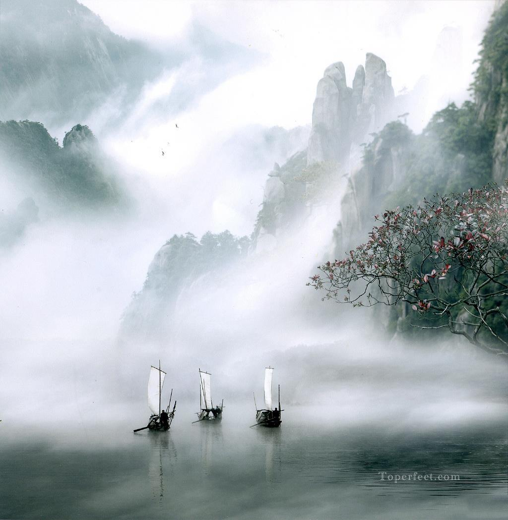 realistic photography 03 Chinese scenery Oil Paintings