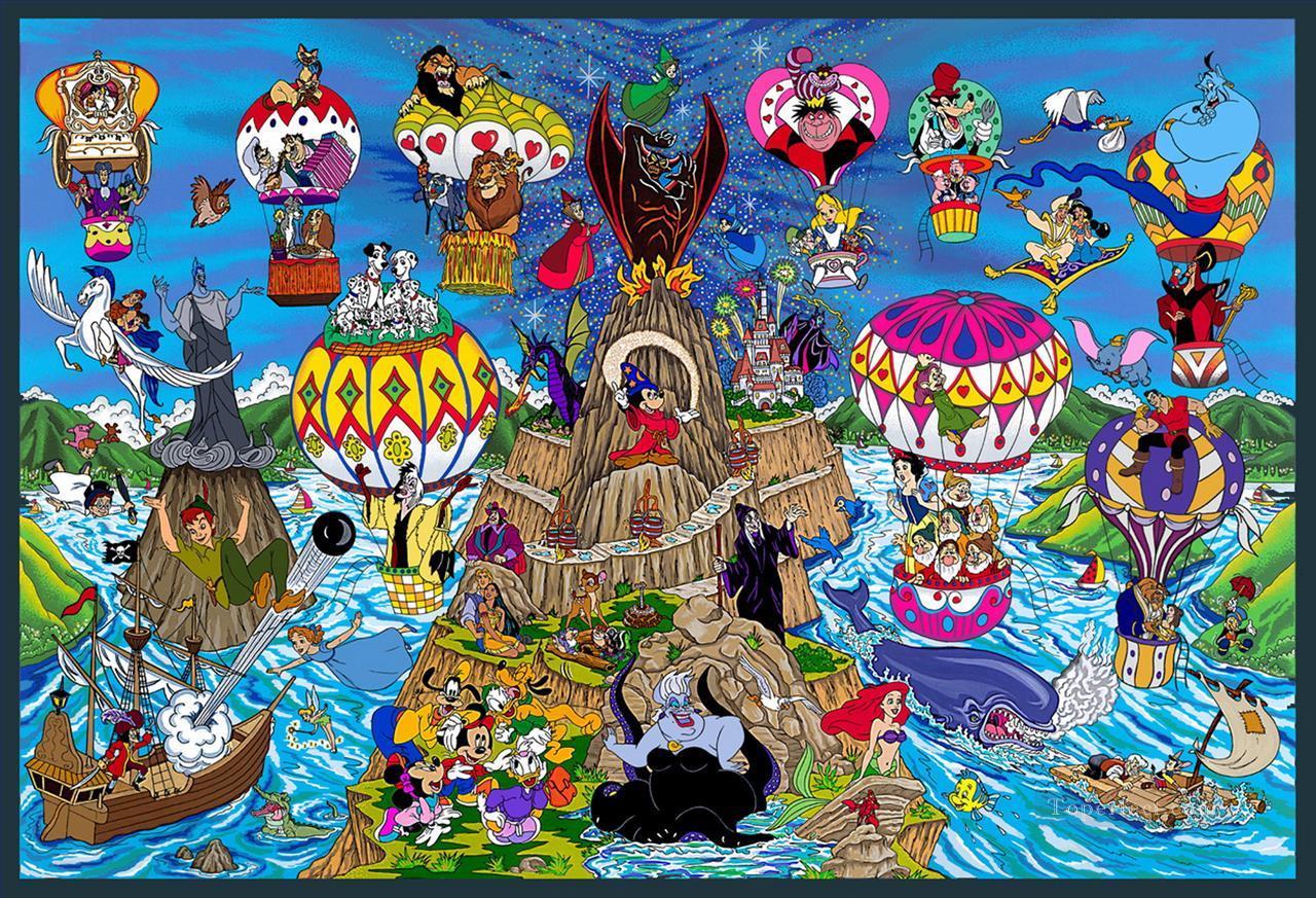 disney pop art great balloon race bgrd impressionists ...