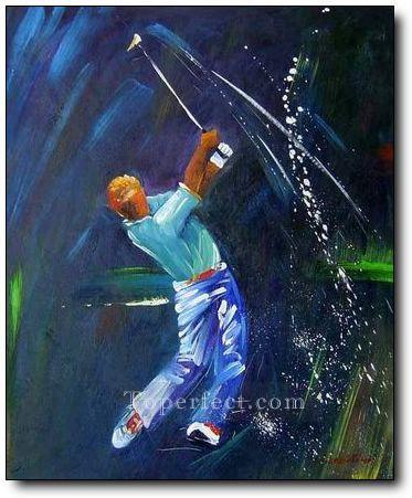 yxr0041 impressionism sport golf Oil Paintings