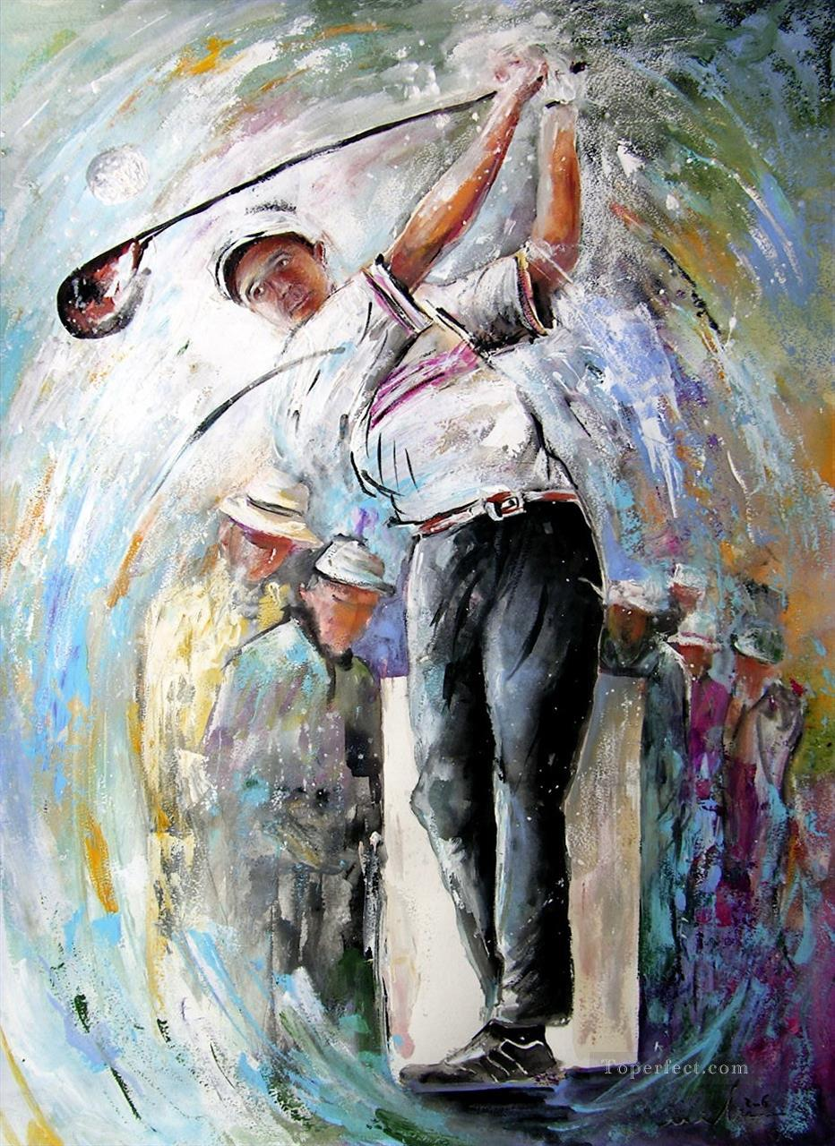 Tee Time impressionist Oil Paintings