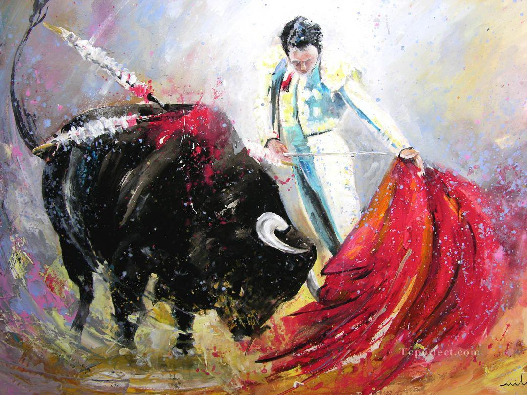 bull fight impressionists Oil Paintings